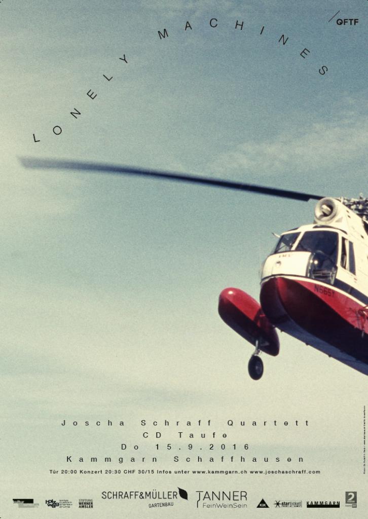 Plakat CD-Taufe J4